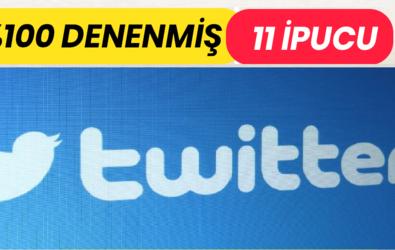 Twitter'da Gerçek Takipçi Edinmenin Ve Gerçek Takipçi Kazanmanın 11 Kuralı