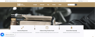 Herle-Avukatlık-Wordpress-Teması